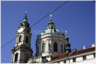 Praha 1 - Městská zvonice a Chrám sv. Mikuláše