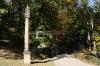 Petřín - sluneční hodiny v zahradě Kinských
