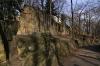 Petřín - pískovcové skály