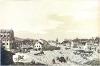 Dobytčí trh (dnešní Karlovo náměstí) kolem roku 1820