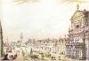 Dobytčí trh (dnešní Karlovo náměstí) kolem roku 1785