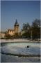 Praha 2 - Karlovo náměstí - zima