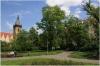 Karlovo náměstí a v pozadí Novoměstská radnice