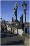 Karlův most a sousoší sv. Kříže (Kalvárie)