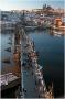 Karlův most - pohled ze Staroměstské mostecké věže