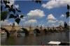 Karlův most - pohled z ostrova Kampa