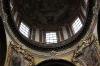 Kostel sv. Františka z  Assisi - interiér - pohled do kopule
