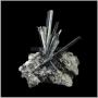 Mineralia - výstava minerálů - Antimonit