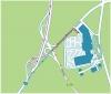 Obchodní centrum Letňany - přijezdová mapa