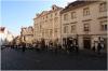 Praha 1 - Nerudova ulice horní část a vlevo Dům U DVou Slunců