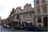 Praha 1 - Nerudova ulice horní část a Dům U Dvou Slunců