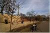 Petřín - Hladová zeď  u rozhledny a dětské hřiště