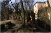 Petřín - Hladová zeď u pískovcových skal