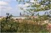Zahrada Nebozízek - výhled na Pražský hrad