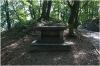 Petřín - zahrada Nebozízek, pomník Vojty Náprstka