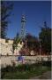 Petřín - Růžový sad a dětské hřiště u rozhledny