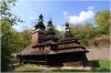 Petřín - zahrada Kinských - kostelík sv. Michala