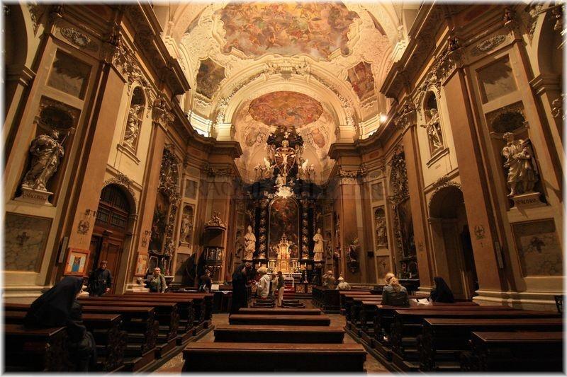 Výsledek obrázku pro kostel svaté Voršily