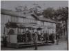 Praha 7 - Letná - první česká elektrická dráha na Letné v roce 1891