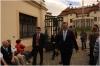 Kramářova vila -premiér odchází ze své pracovny