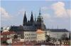 Praha 1 - Schwarzenberský palác pohled ze Strahovské zahrady