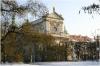 Kostel sv. Ignáce na Karlově náměstí - zima