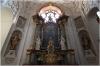 Kostel sv Ignáce interiér - kaple sv. Barbory