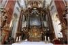 Kostel sv Ignáce interiér - hlavní oltář
