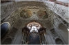 Kostel sv Ignáce interiér - kaple sv. Františka Xaverského