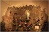 Kostel sv Ignáce interiér - Lurdská jeskyně
