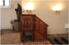 Kostel svatého Václava na Zderaze - interiér - kazatelna7_005