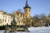 Novoměstská radnice - zimní