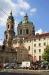 Malostranské náměstí - chrám sv. Mikuláše
