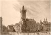 Staroměstská radnice kolem roku 1825