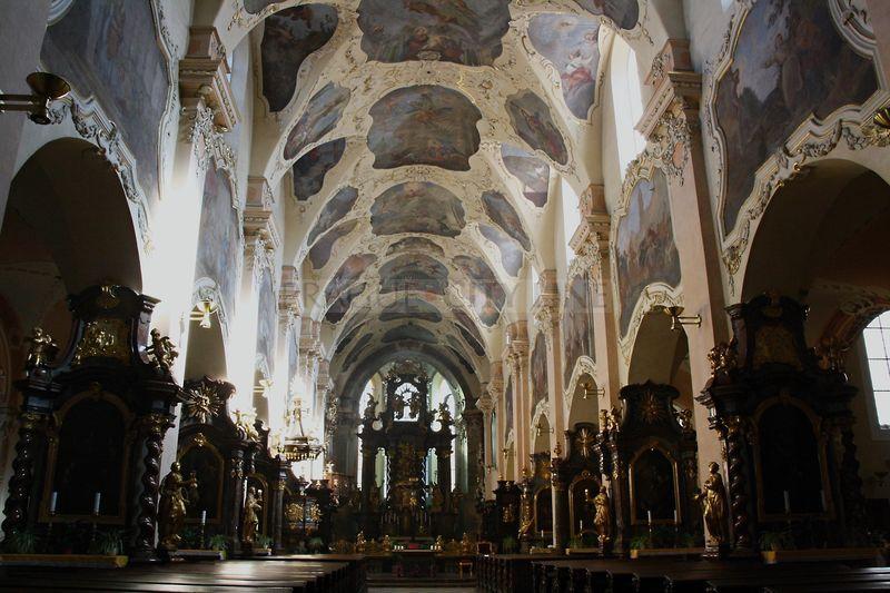 Strahovsky Klaster Praha Strahovský Klášter Basilika