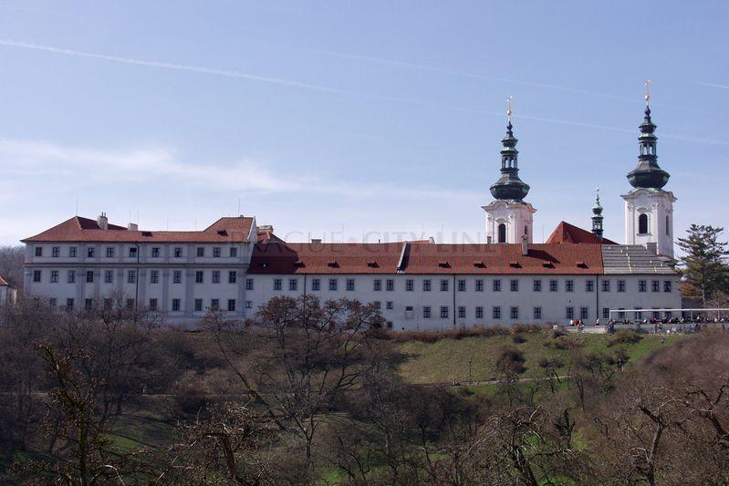 Strahovsky Klaster Praha Strahovský Klášter Pohled z