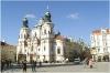 Staroměstské náměstí a kostel sv. Mikuláše