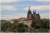 Pražský hrad - pohled z Kramářovy vily