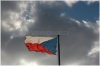 Praha 3 -  vrch Vítkov - vlajka České republiky