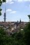 Žizkov - pohled z vrchu Vítkov