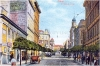 Starý Žižkov - Prokopova ulice a na konci Bezovka