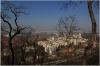 Vrch Vítkov - výhled na Prahu