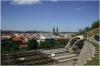 Vrch Vítkov - pohled na źelezniční koridor