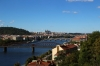 Pohled z vyšehradu na Vltavu