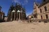 III. nádvoří a chrám sv. Víta