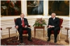 Bývalý prezident ČR Václav Klaus a prezident Ruské federace Vladimír Putin