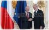 Prezident České republiky Miloš Zeman a Předseda Evropské rady Herman Van Rompuy
