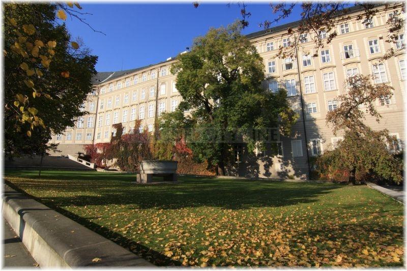 Rajská zahrada pražský hrad