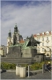 Staroměstské náměstí - pomník mistra Jana Husa