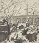 Starý židovský hřbitov v zimě (1914)